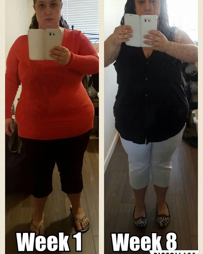 8 weeks on the valentus diet